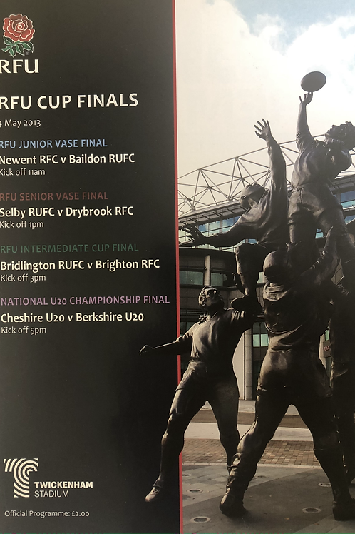 RFU Cup Finals 2013