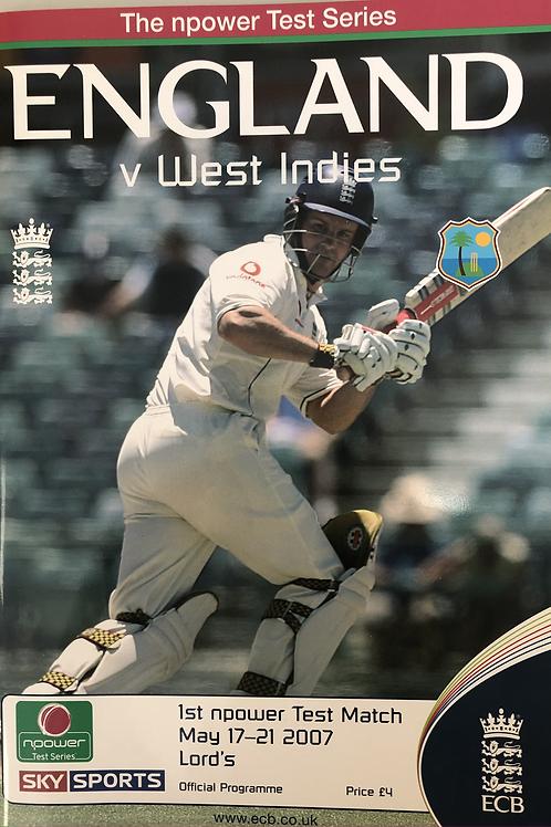 England v West Indies 1st Test Match