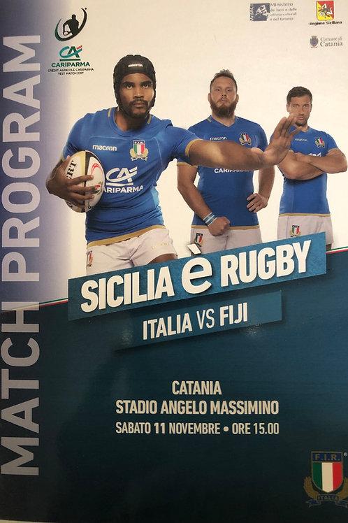 Italy V Fiji 11.11.2017