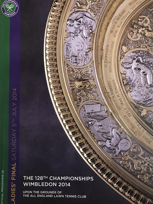 Wimbledon 2014 Ladies Final