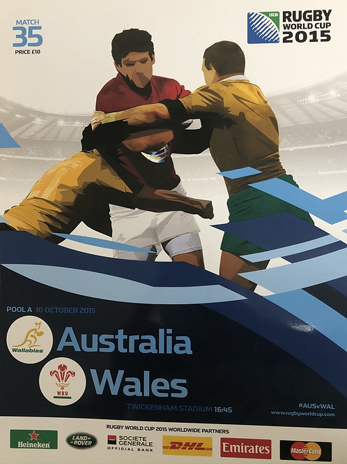 Rugby World Cup 2015 - Australia v Wales