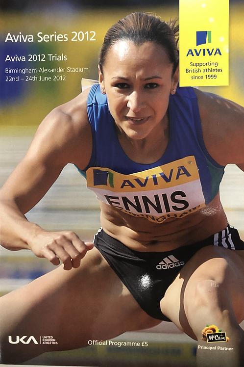 Aviva 2012 Trials