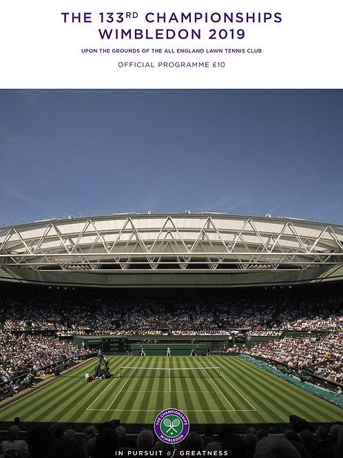 Wimbledon 2019 Day 7 Official Programme