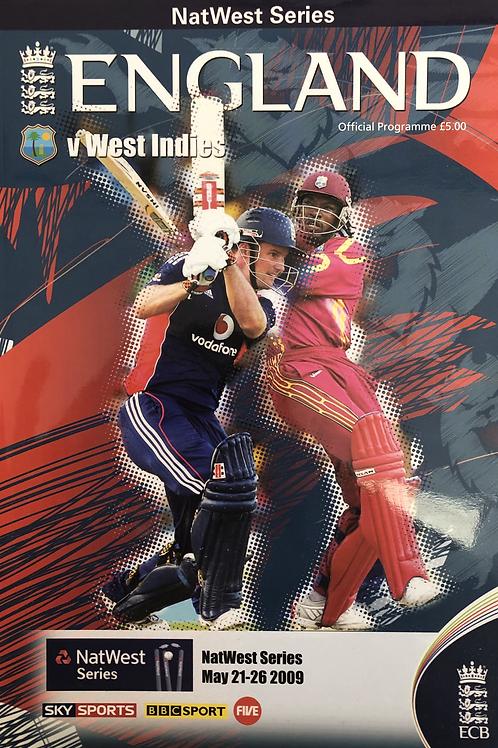 Natwest Series England v West Indies 2009