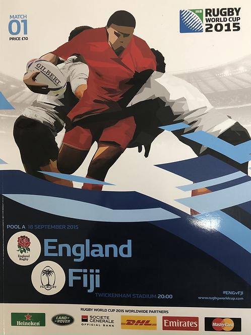 Rugby World Cup 2015 - England v Fiji