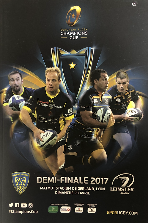 European Rugby Champions Cup Semi Final 2017