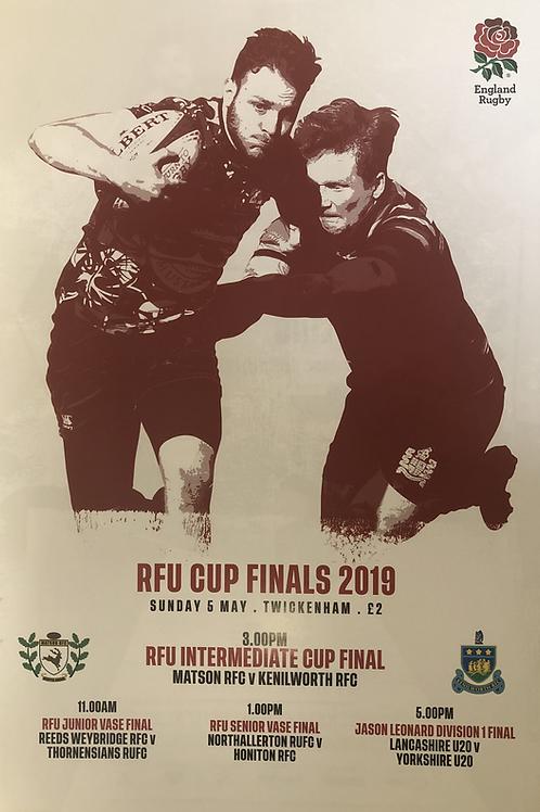 RFU Cup Finals 2019