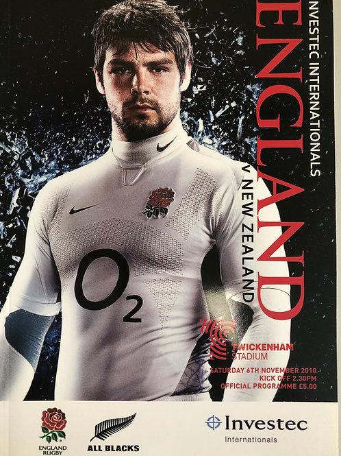 England v New Zealand 06/11/2010