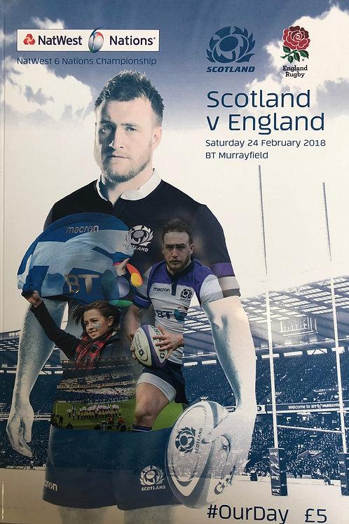 Scotland v England 24.02.2018