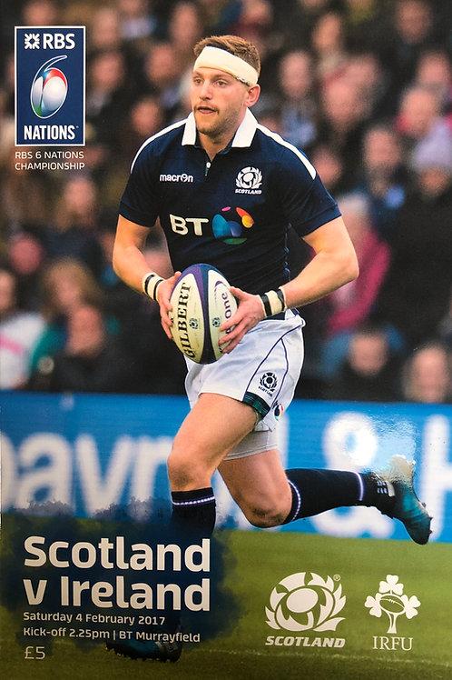 Scotland v Ireland 04.02.2017