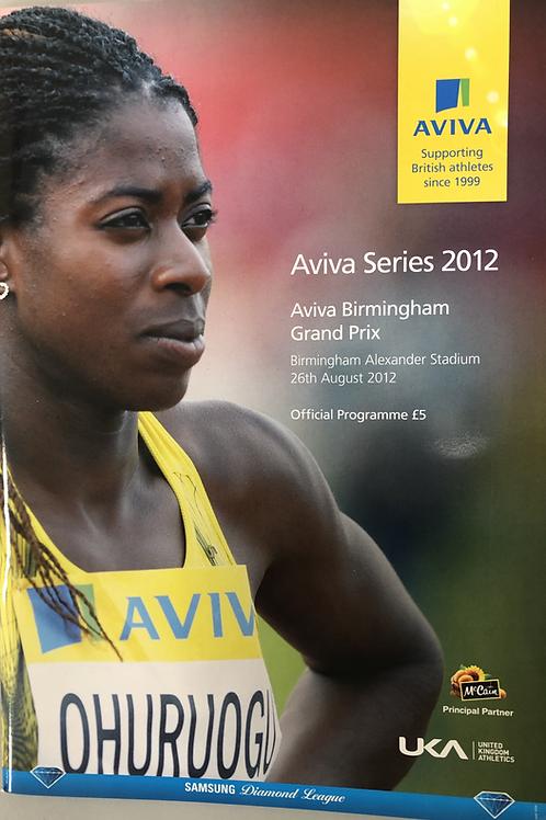 Aviva London Grand Prix 2012