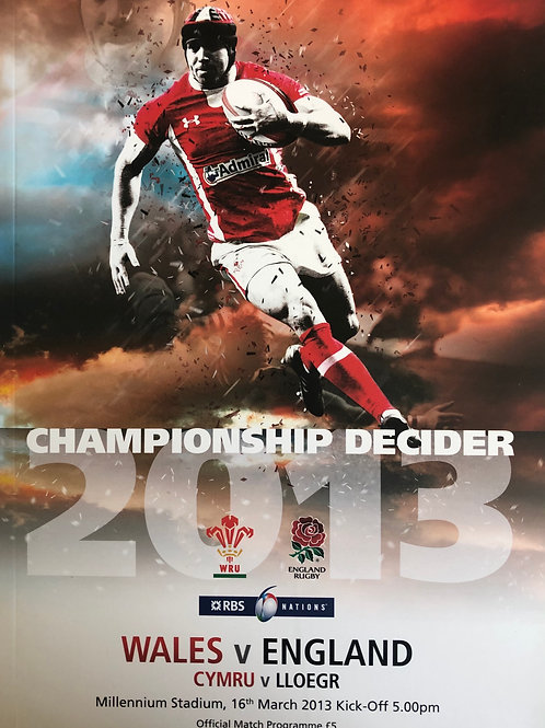 Wales v England 16.03.2013