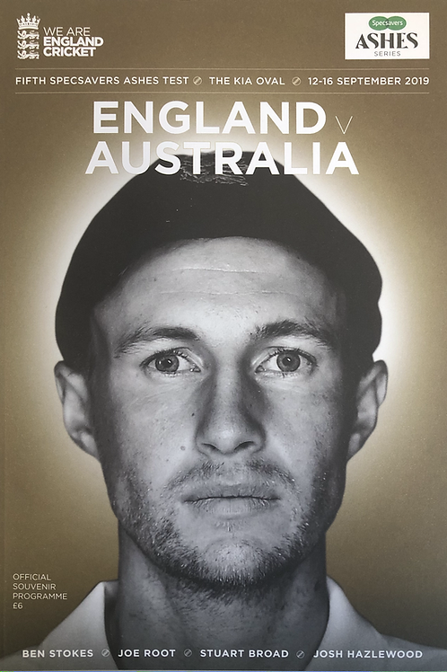 5th Ashes Test 2019