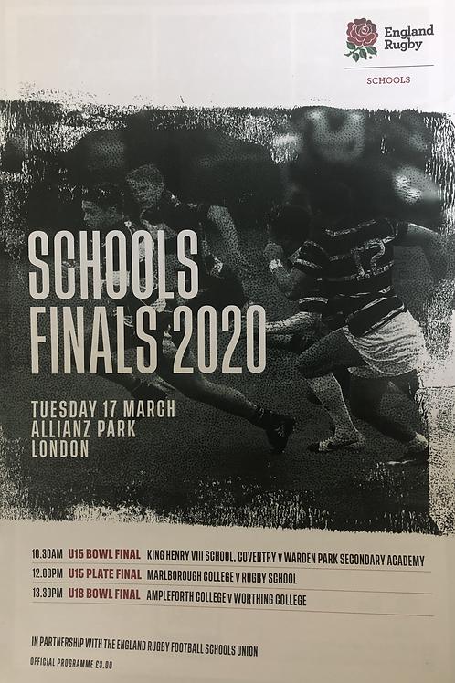 Schools Finals 2020