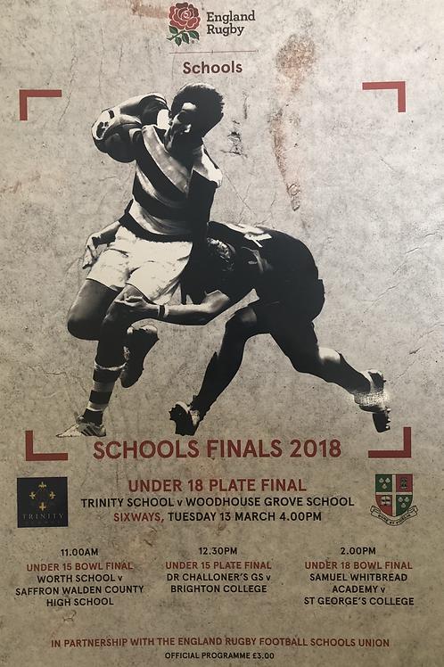 Schools Finals 2018