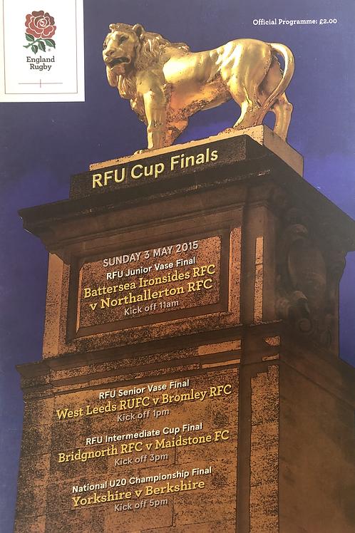 RFU Cup Finals 2015