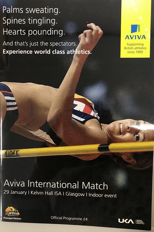 Aviva International Match 2011