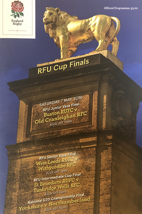 RFU Cup Finals 2016