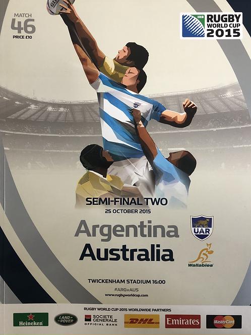 Rugby World Cup 2015 - Argentina v Australia