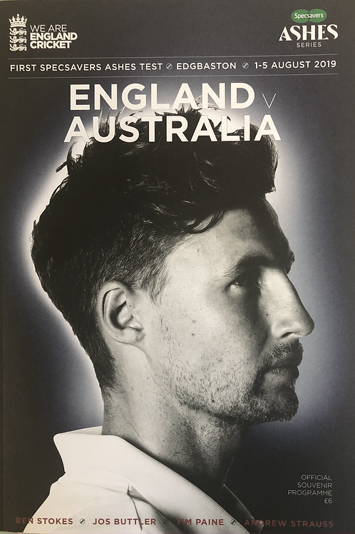 1st Ashes Test 2019