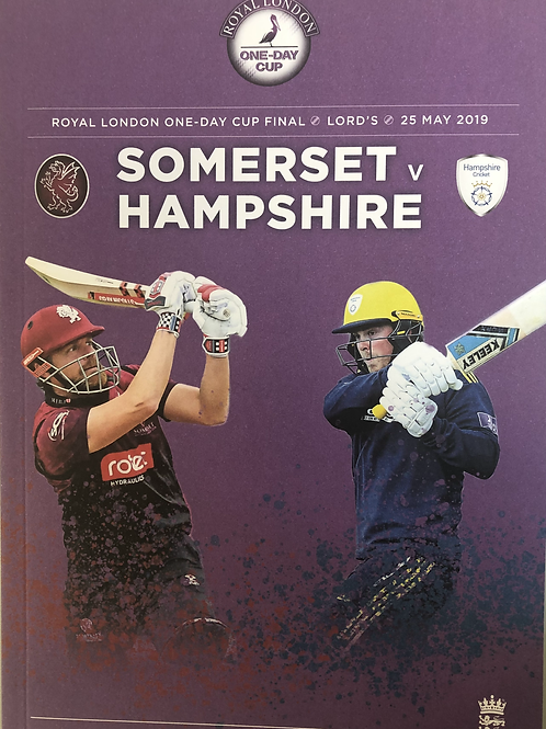 Royal London One-Day Cup Final 2019