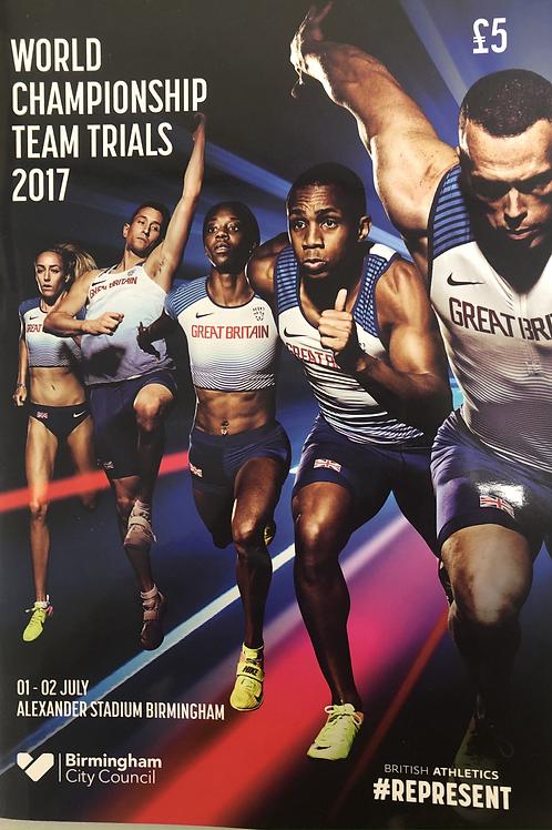 World Championship Team Trials 2017