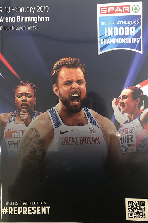 Spar British Athletics Indoor Championships 2019