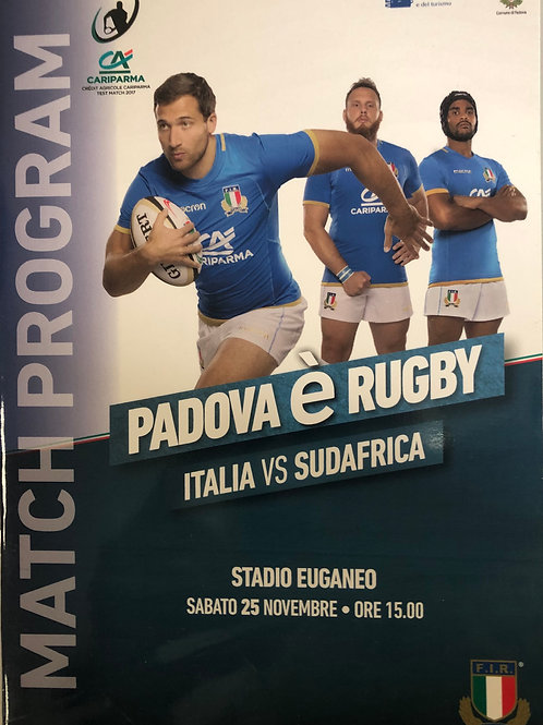 Italy v South Africa 25.11.2017