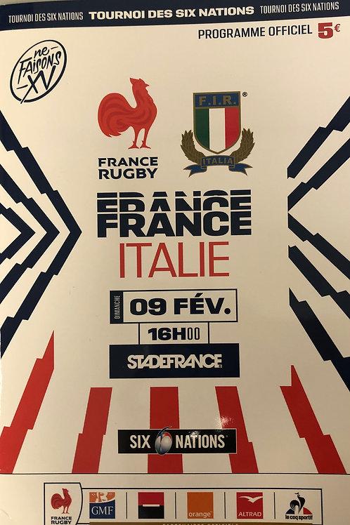 France v Italy 09.02.2020