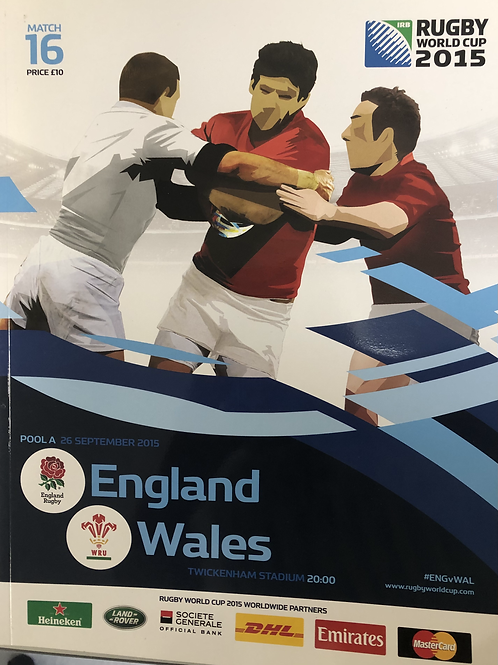Rugby World Cup 2015 - England v Wales