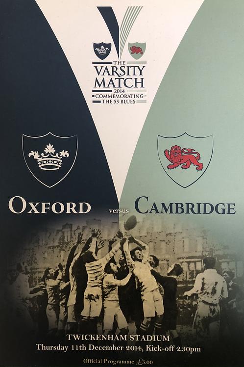 Varsity Match 2014