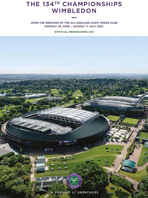 Wimbledon Programme 2021