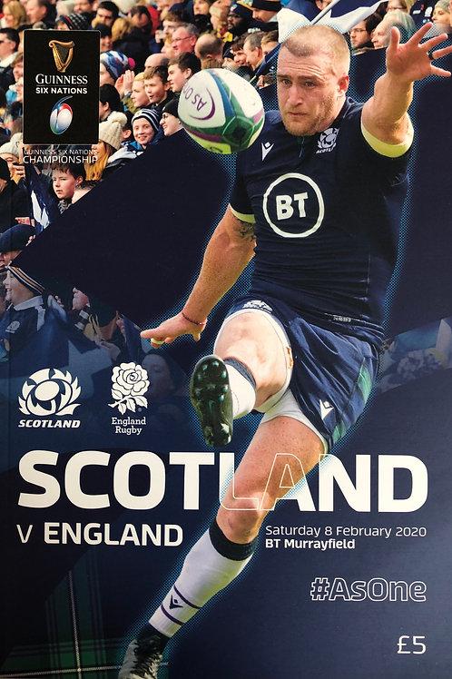 Scotland v England 08.02.2020