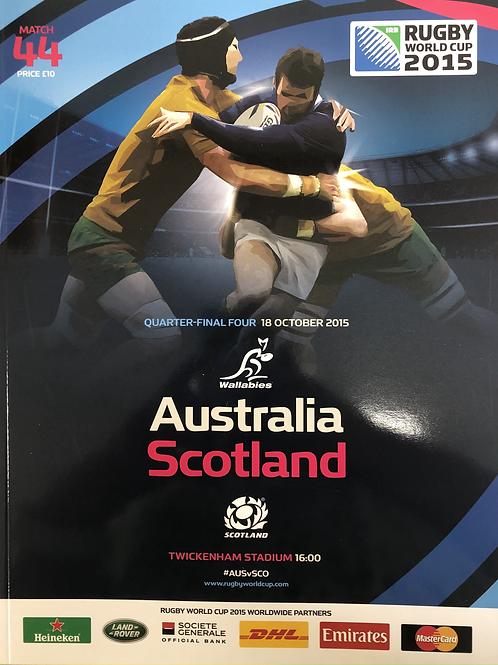 Rugby World Cup 2015 - Australia v Scotland