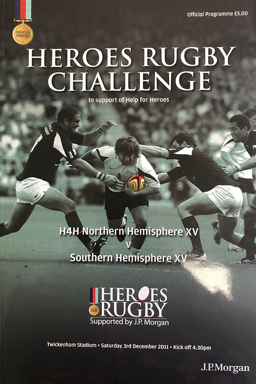 Heroes Rugby Challenge 03.12.2011