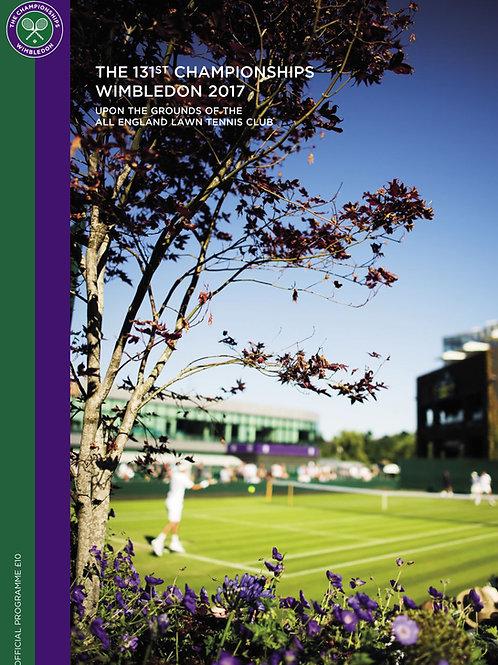 Wimbledon 2017 Day 10 Official Programme