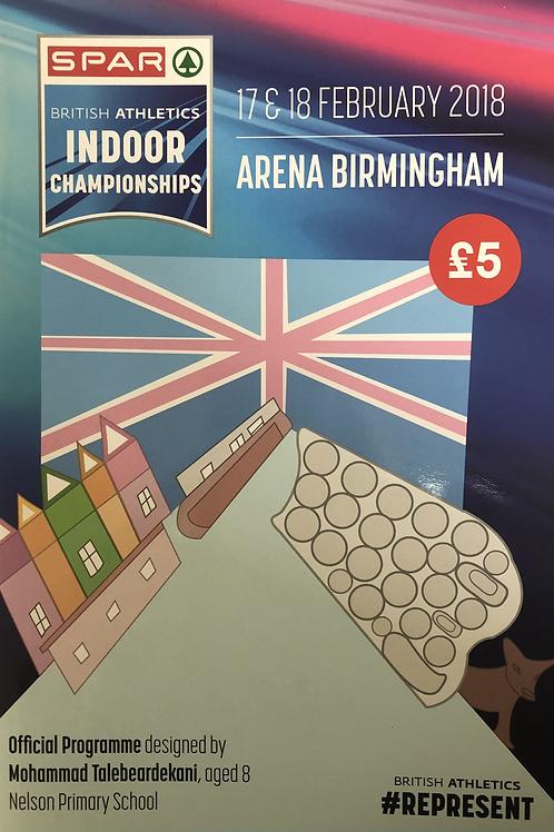 Spar British Athletics Indoor Championships 2018