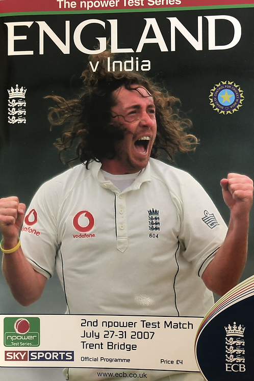 England v India 2nd Test Match 2007