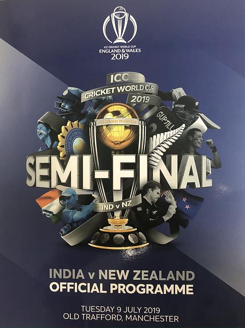 Icc Cricket World Cup Semi Final 2019