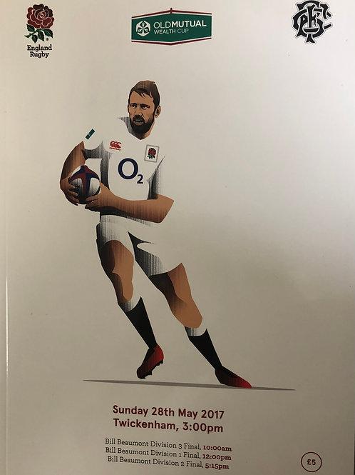 England v Barbarians 28.05.2017