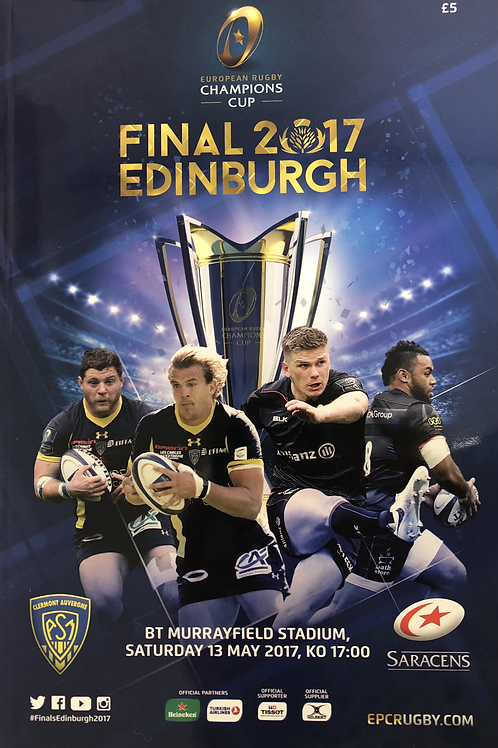 European Rugby Champions Cup Final 2017