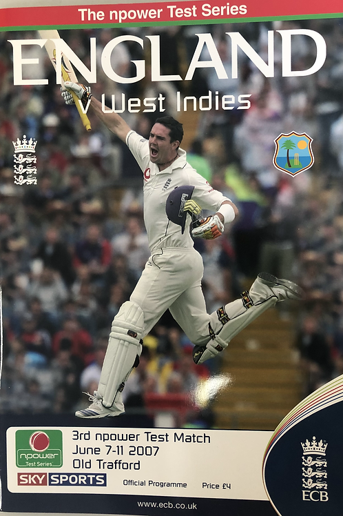 England v WestIndies 3rd Test Match 2007