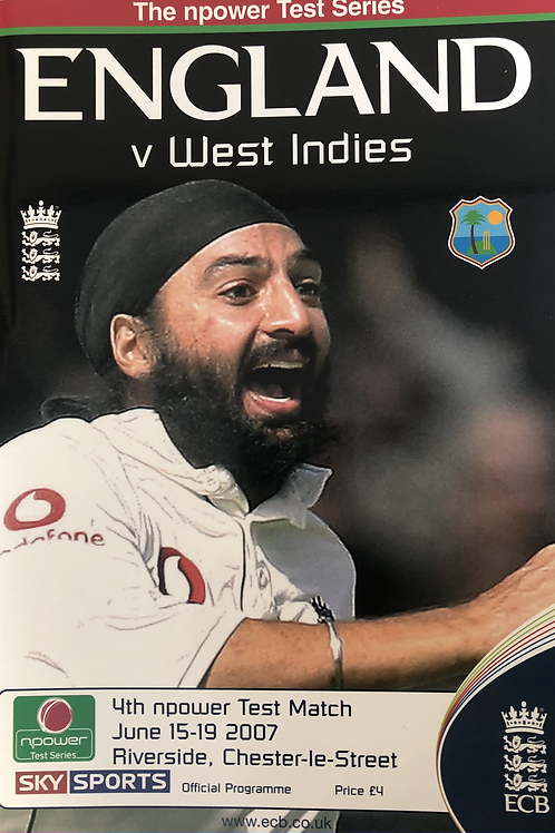 England v West Indies 4th Test Match 2007