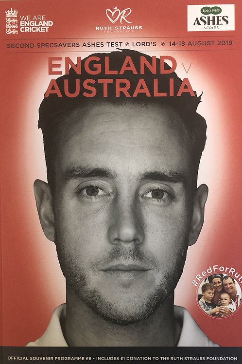 2nd Ashes Test 2019