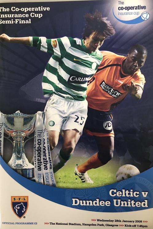 The Co-operative Insurance Cup Semi Final 2009