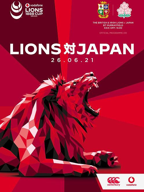 The British & Irish Lions v Japan