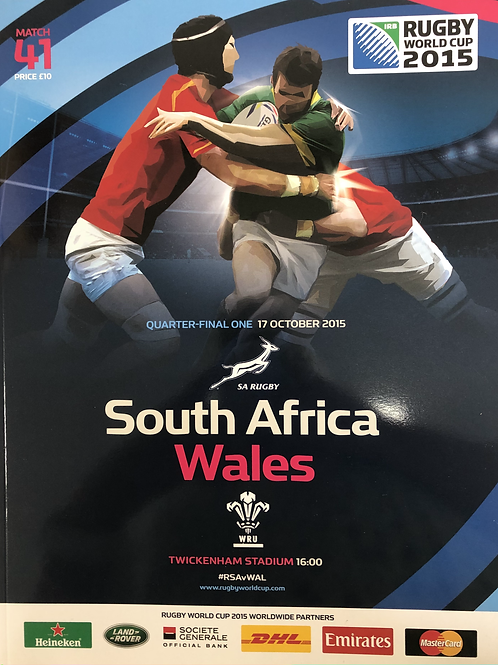 Rugby World Cup 2015 - South Africa v Wales