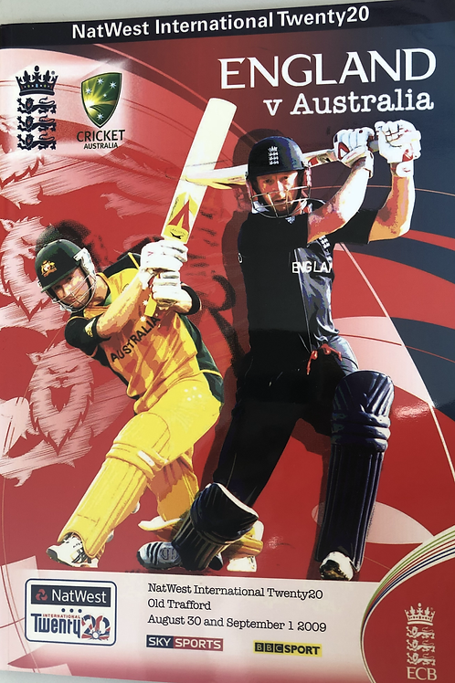 England v Australia T20 2009