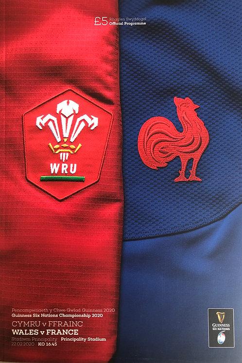 Wales v France 22.02.2020