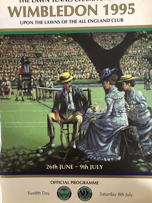 Wimbledon 1995 Twelfth Day Official Programme
